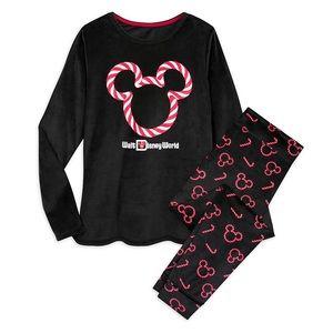 New Mickey Mouse Velour Pajama Set for Disney Park